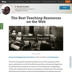 The Best Teaching Resources on the Web