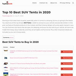 best SUV tents review