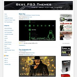 Best PS3 Themes