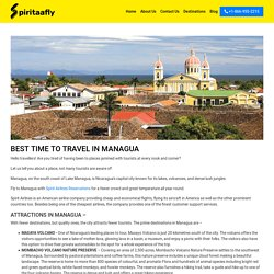 BEST TIME TO TRAVEL IN MANAGUA