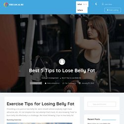 Best 5 Tips to Lose Belly Fat - The Local BZ