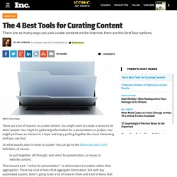 The 4 Best Tools for Curating Content