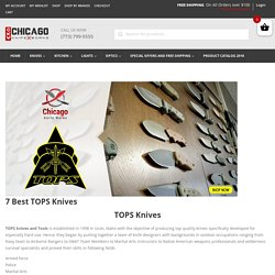 The 7 Best TOPS Knives Reviews and Our Picks for 2020