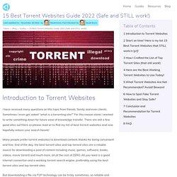 15 Best Torrent Websites in 2021 that STILL work!