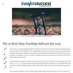 The 10 Best Time Tracking Software for 2020