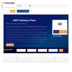 Best AWS Training in Pune with Placement