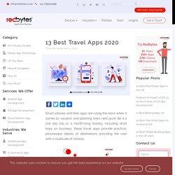 13 Best Travel Apps 2020