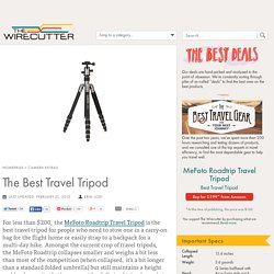 The Best Travel Tripod