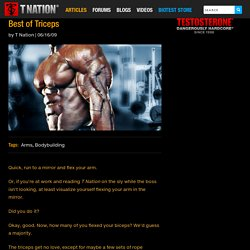 Best of Triceps
