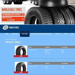 Heavy Truck Tires For Sale