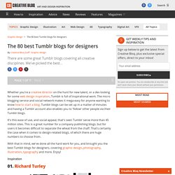 The 80 best Tumblr blogs for designers