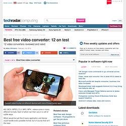 Best 12 free converters