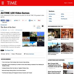 Best Video Games | All-TIME 100 Video Games | TIME.com