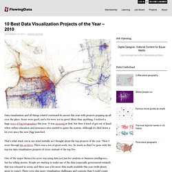 10 Best Data Visualization Projects of the Year – 2010