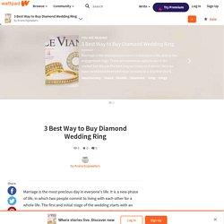 3 Best Way to Buy Diamond Wedding Ring