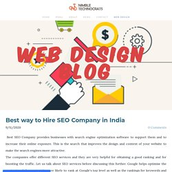 Best way to Hire SEO Company in India