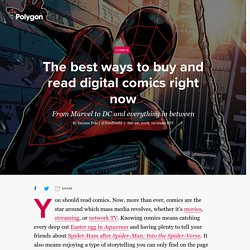 7 best ways to buy and read digital comics right now