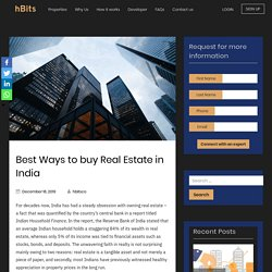 Best Ways to buy Real Estate in India