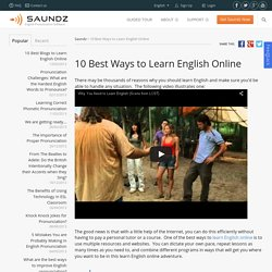 10 Best Ways to Learn English Online