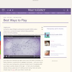 Best Ways to Play