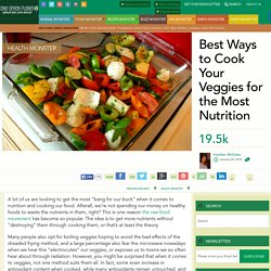 Best Ways to Cook Your Veggies for the Most Nutrition