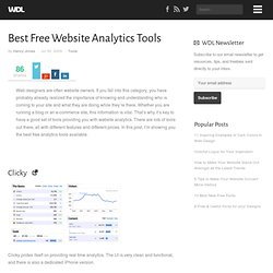 Best Free Website Analytics Tools | Tools