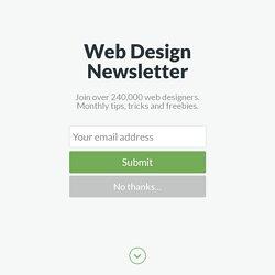 Best Website Designs of 2015