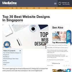 20 of the Best Website Designs in Singapore