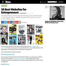 50 Best Websites for Entrepreneurs