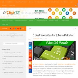 5 Best Websites for Jobs in Pakistan-ClickOB