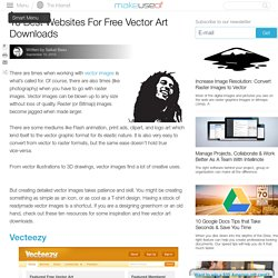 10 Best Websites For Free Vector Art Downloads