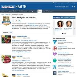 Best Weight-Loss Diets