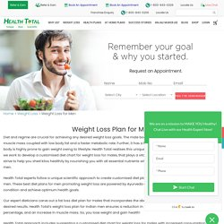 Weight Loss Diet Chart for Male – Health Total