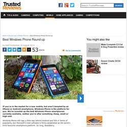 5 Best Windows Phones You Can Buy