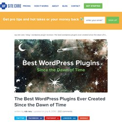 Best WordPress Plugins - Over 40 Hand-Tested Plugins!