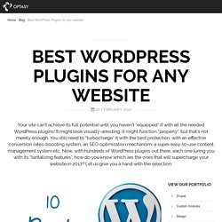 Best WordPress Plugins for any website