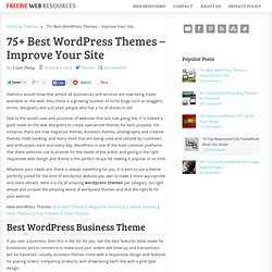 75+ Best WordPress Themes - Improve Your Site
