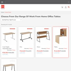 Best Work From Home Tables
