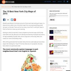 Les dix meilleurs cartes de la ville de New york en 2015