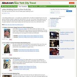 Best New York City Walking Tours