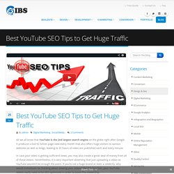 Best YouTube SEO Tips to Get Huge Traffic
