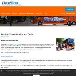 BestBus Travel Benefits and Deals