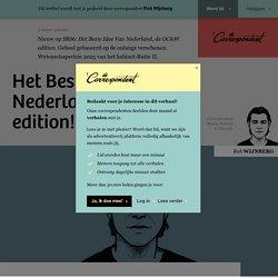 Het Beste Idee Van Nederland, de OC&W edition!