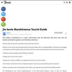 De beste Marokkaanse Tourist Guide