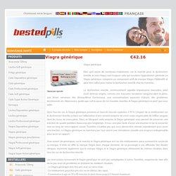 Achetez des pilules de Viagra générique en ligne à des prix réduits