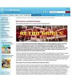 Die besten Retro-Games und Spiele-Klassiker