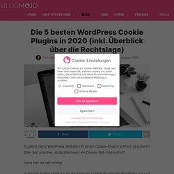 Die 5 besten WordPress Cookie Plugins 2020 (inkl. Rechts-Guide)