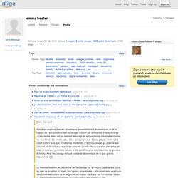 emma bester (emmabe)'s Public Profile in the Diigo Community