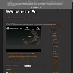 Best Europe SEO #BestEuropeSEO bitly.com/2FSIgkh #WebAuditor.Eu Best Online Advertising Solutions InterNet Shop's Top Mar...