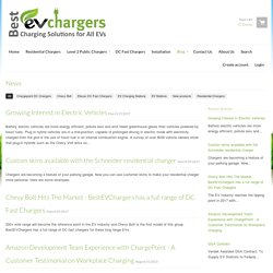 Blog about EV Charging Network and Services - BestEVChargers